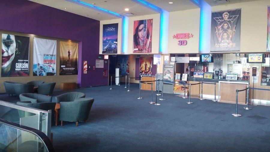 Cine Dinosaurio Mall 60 Cuadras