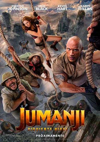 Jumanji el siguiente nivel