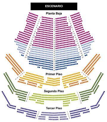 Ubicaciones Teatro Coliseo